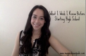Maggie- Starting High School